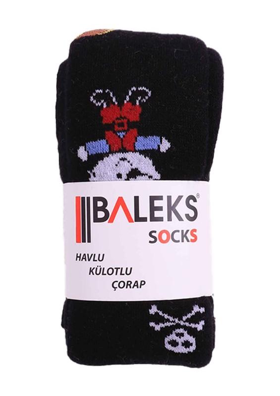 BALEKS - Baleks Havlu Külotlu Çorap 328 | Siyah
