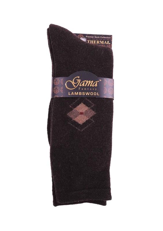 GAMA - Gama Yün Çorap 373 | Kahverengi