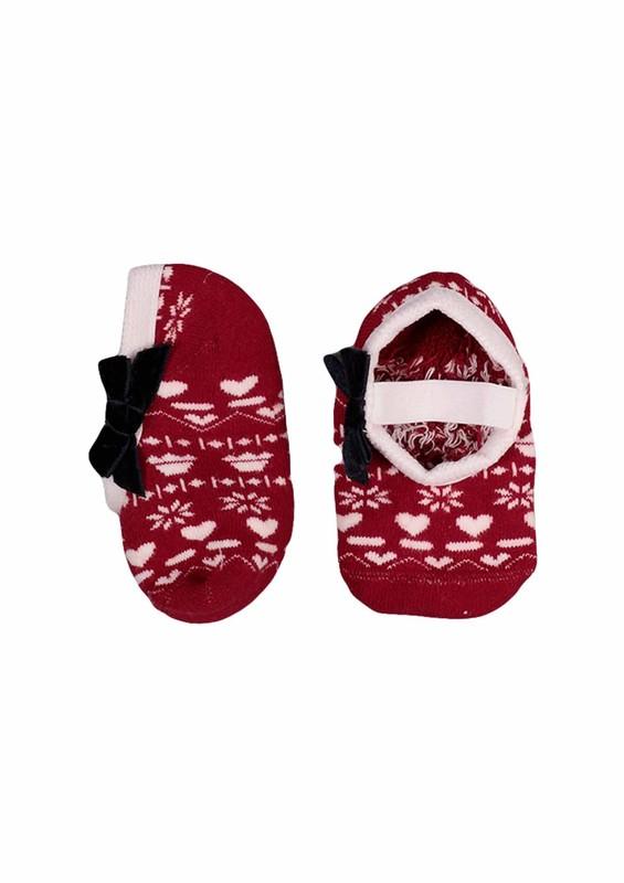 KATAMİNO - Katamino Havlu Patik Çorap 83016 | Kırmızı