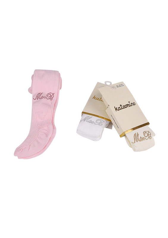 KATAMİNO - Katamino Külotlu Çorap 60019 | Beyaz