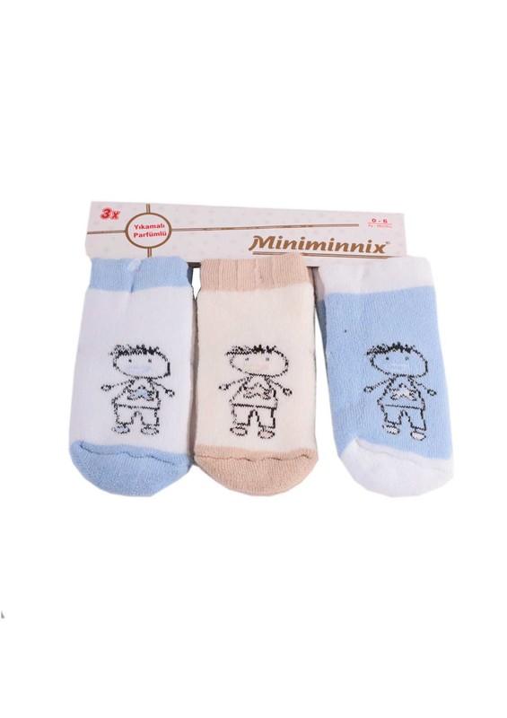 MİNİMİNNİX - Miniminnix Çorap 3 ' lü 024 | Standart