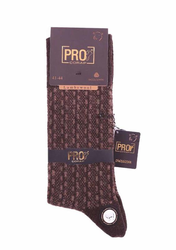 PRO - Pro Yün Çorap 13612 | Kahverengi