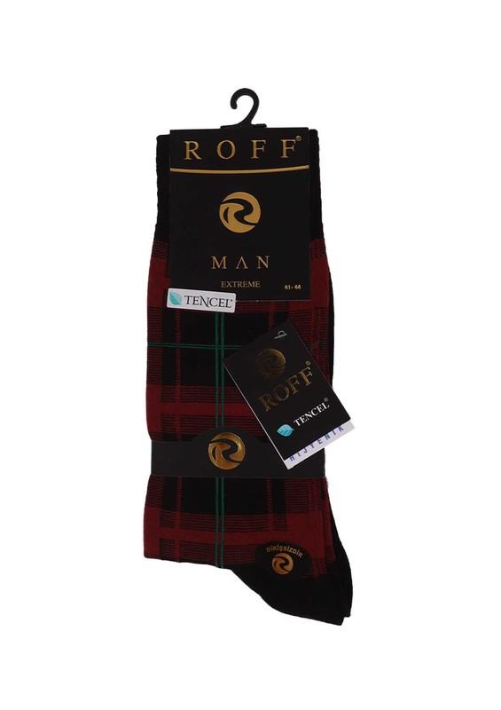 ROFF - Roff Tencel Çorap 16203 | Bordo