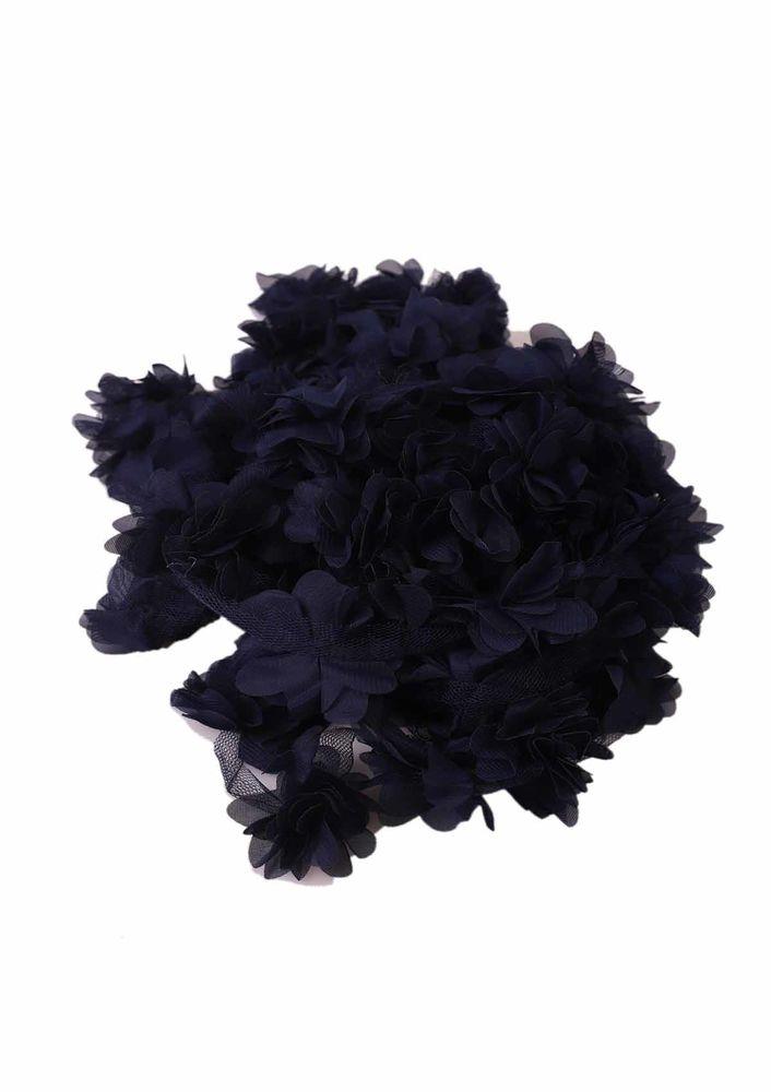 Simisso Lazer Kesim Çiçek 595 | Lacivert