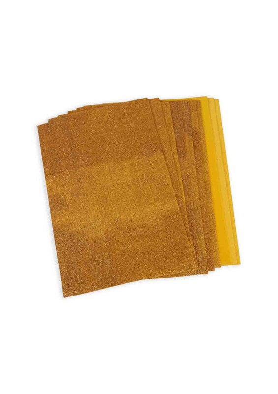 SİMİSSO - Simli Eva 20*30 cm 10'lu | Sarı