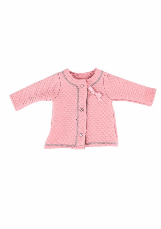 HOPPALA BABY - Hoppala Baby Hırka 698   Bebe Pembe