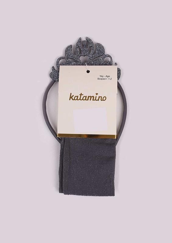KATAMİNO - Katamino Külotlu Çorap 002 | Gri