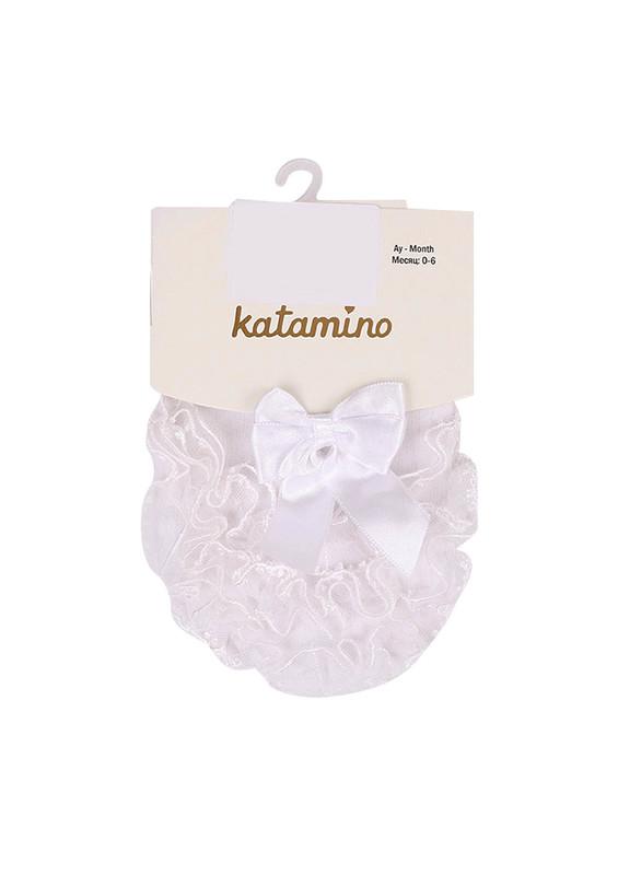 KATAMİNO - Katamino Külotlu Çorap 028 | Beyaz
