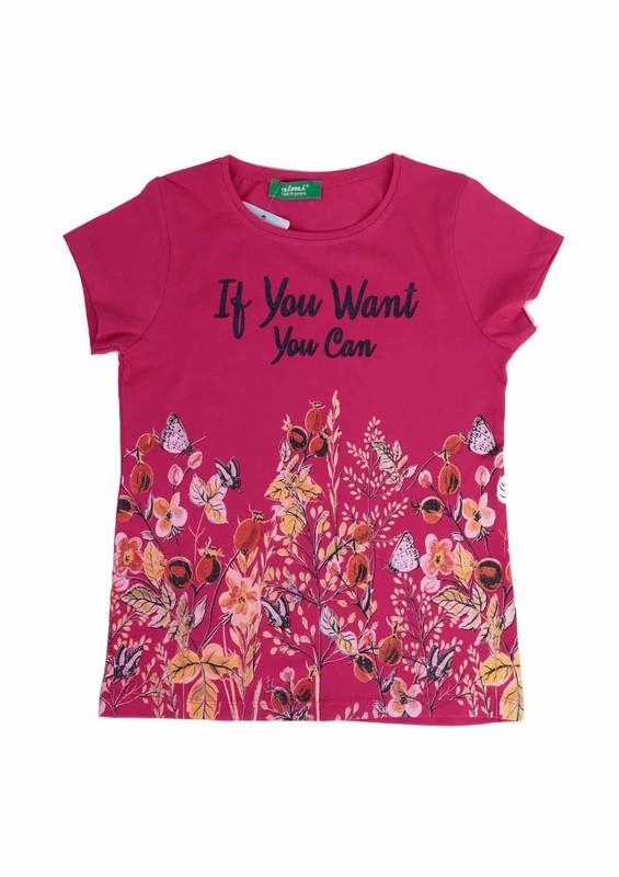 SİMİSSO - Simisso T-Shirt 79173 | Fuşya