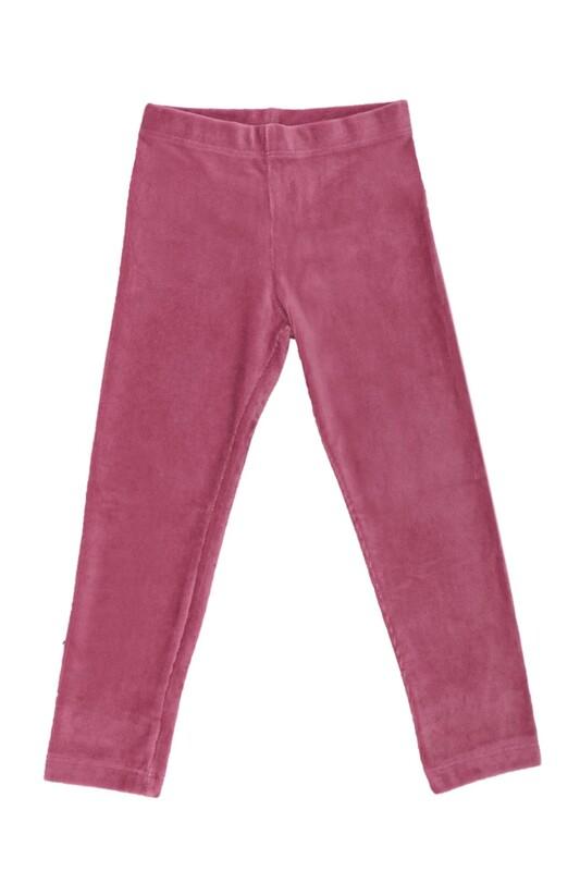 SİMİSSO - Simisso Çocuk Kadife Pantolon 1601 | Gül Kurusu