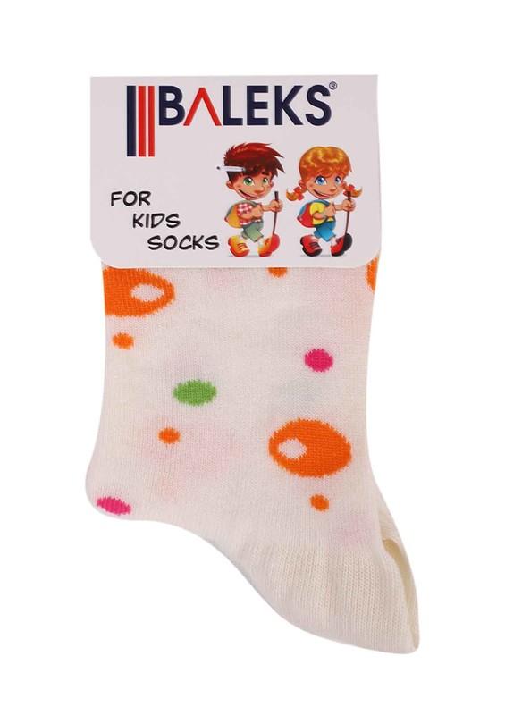 BALEKS - Baleks Soket Çorap 832 | Krem