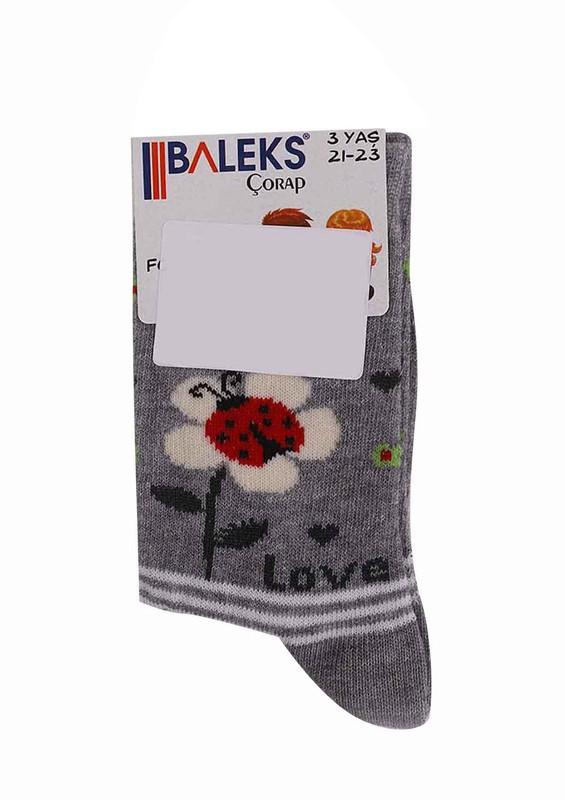 BALEKS - Baleks Soket Çorap 953   Gri