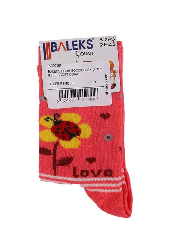 BALEKS - Baleks Soket Çorap 953   Fuşya