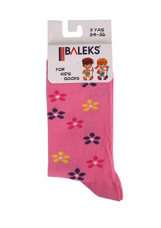 BALEKS - Baleks Soket Çorap 829 | Fuşya