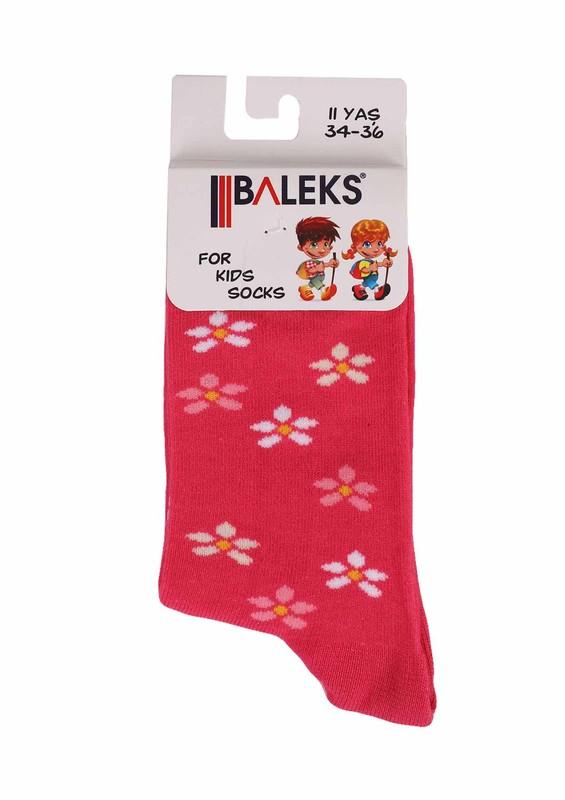 BALEKS - Baleks Soket Çorap 829 | Pembe