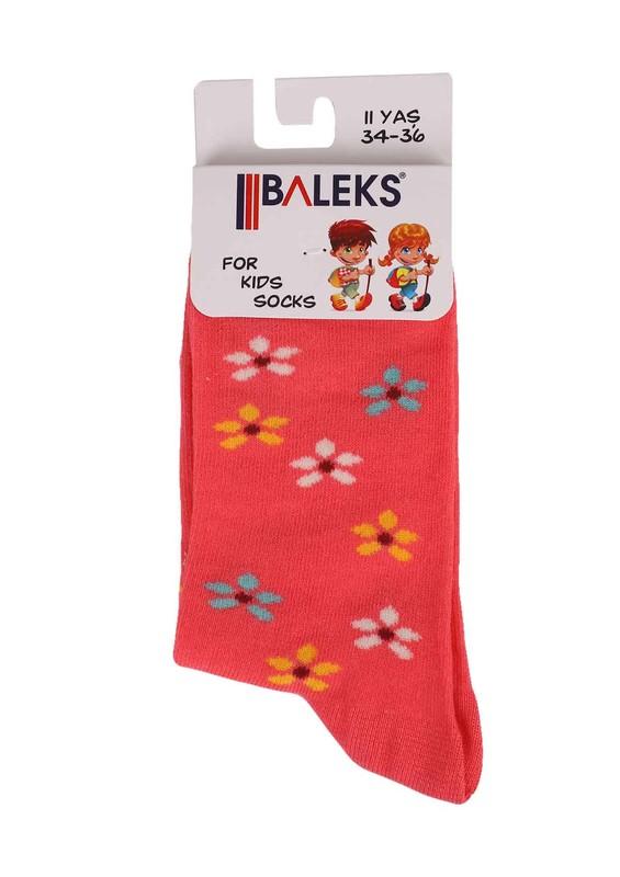 BALEKS - Baleks Soket Çorap 829   Pudra