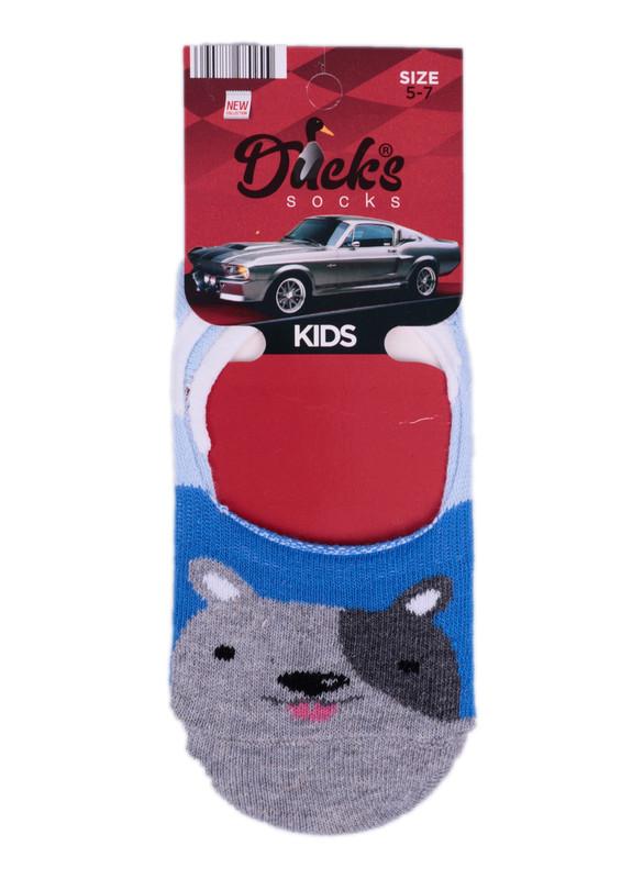 DUCKS - Ducks Çocuk Babet Çorap 9003 | Mavi