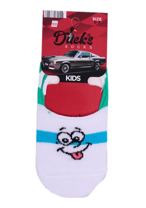 DUCKS - Ducks Çocuk Babet Çorap 9004 | Beyaz