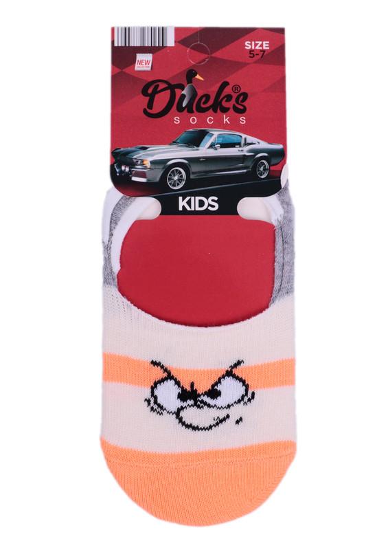 DUCKS - Ducks Çocuk Babet Çorap 9004 | Turuncu