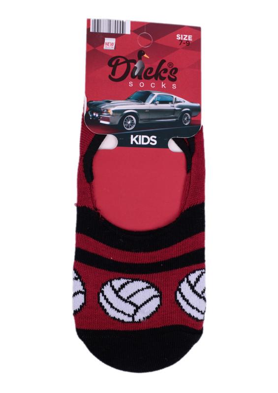 DUCKS - Ducks Çocuk Babet Çorap 9005   Siyah