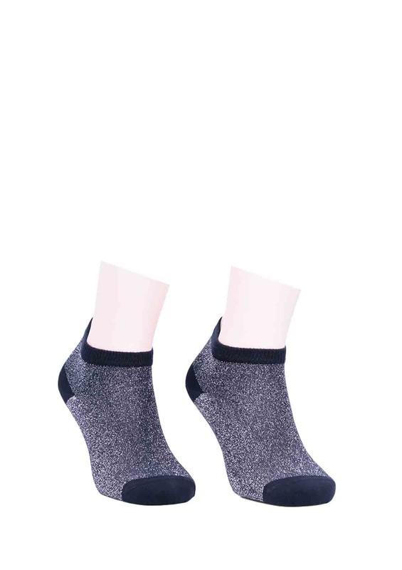 DÜNDAR - Dündar Desenli Soket Çorap 023 | Lacivert