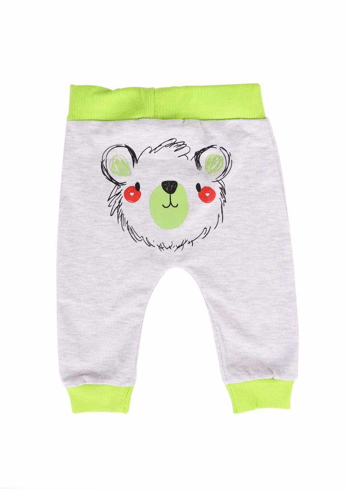 Miniş Bebek Pantolonu 1016 | Yeşil Gri
