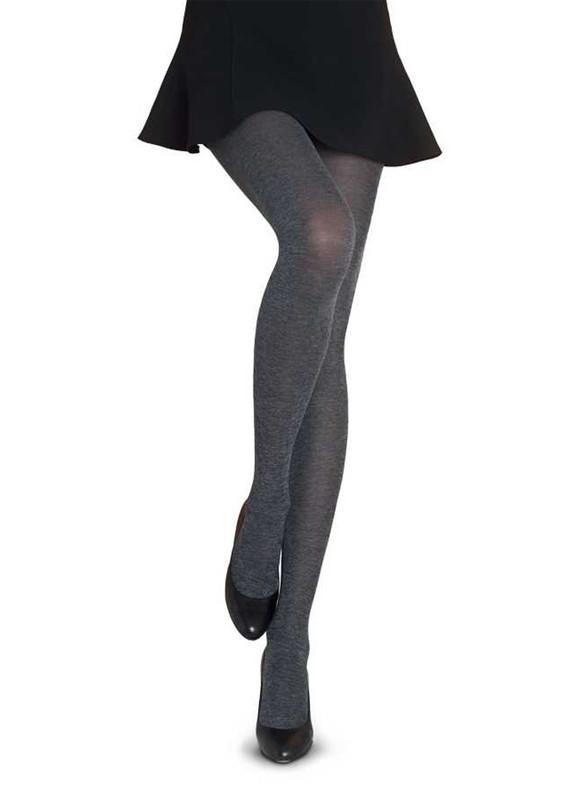 PENTİ - Penti Micro60 Cotton Külotlu Çorap | Gümüş