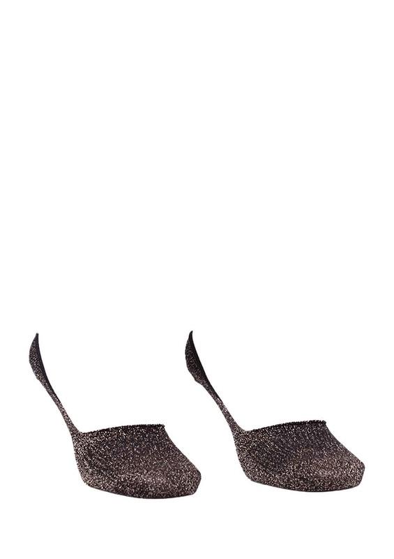 SARA DONNA - Desenli Patik Çorap 400 | Yeşil