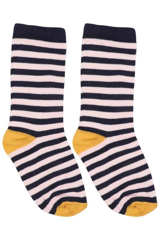 SİMİSSO - Desenli Çocuk Çorap 907 | Lacivert