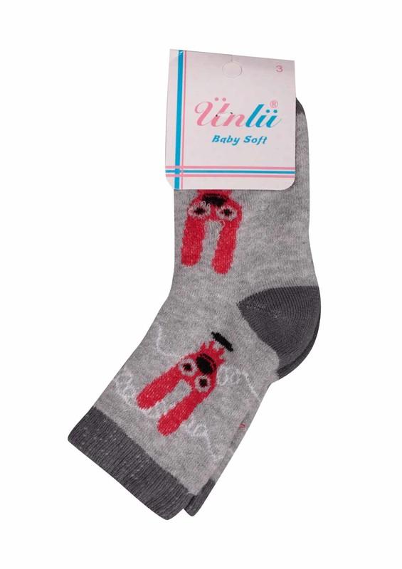 ÜNLÜ BABY - Ünlü Baby Çorap 002 | Füme