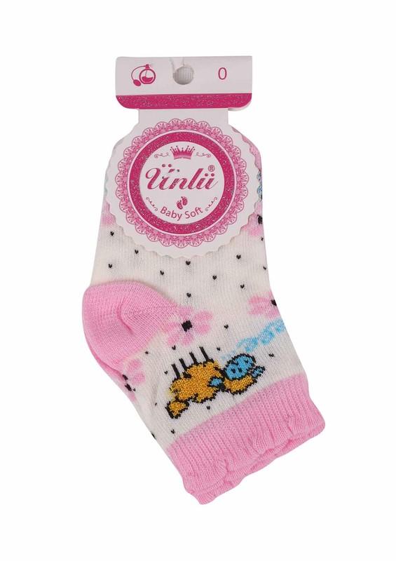 ÜNLÜ BABY - Ünlü Baby Soket Çorap 111 | Pembe
