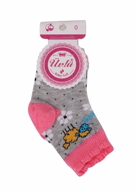 ÜNLÜ BABY - Ünlü Baby Soket Çorap 111 | Gri