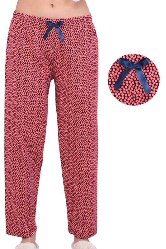 5 - Daire Baskılı Kadın Pijama Altı | Nar Çiçeği
