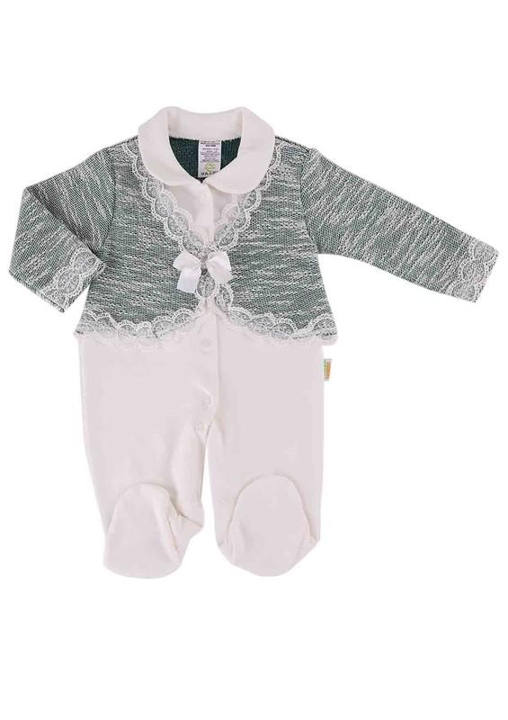 LİNDO - Lindo Bebek Tulumu 7076   Yeşil