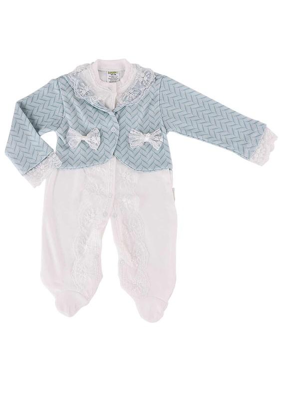 LİNDO - Lindo Bebek Tulumu 7076   Mavi