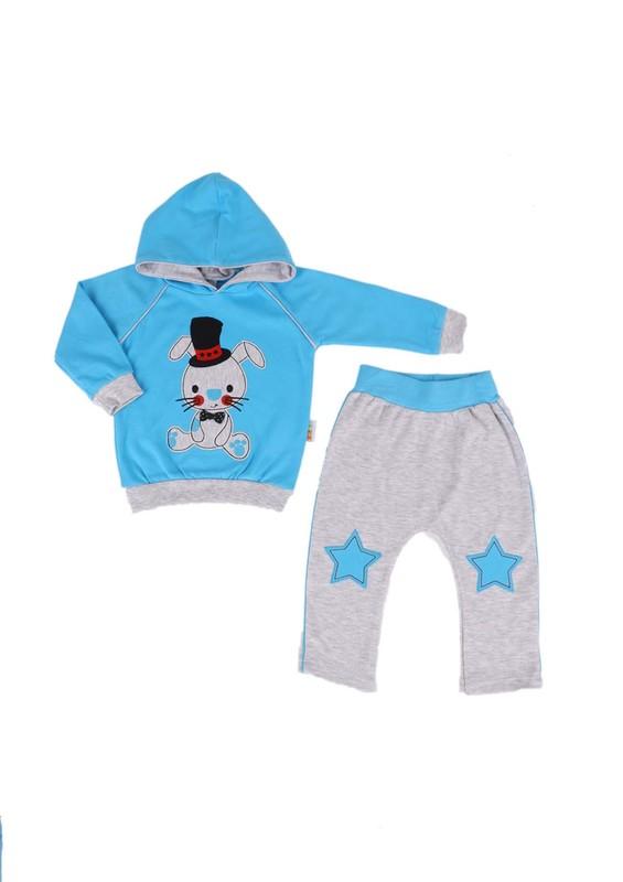 MİNİŞ - Miniş Bebek Takımı 1012 | Mavi