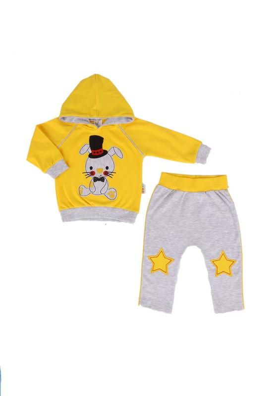 MİNİŞ - Miniş Bebek Takımı 1012 | Sarı