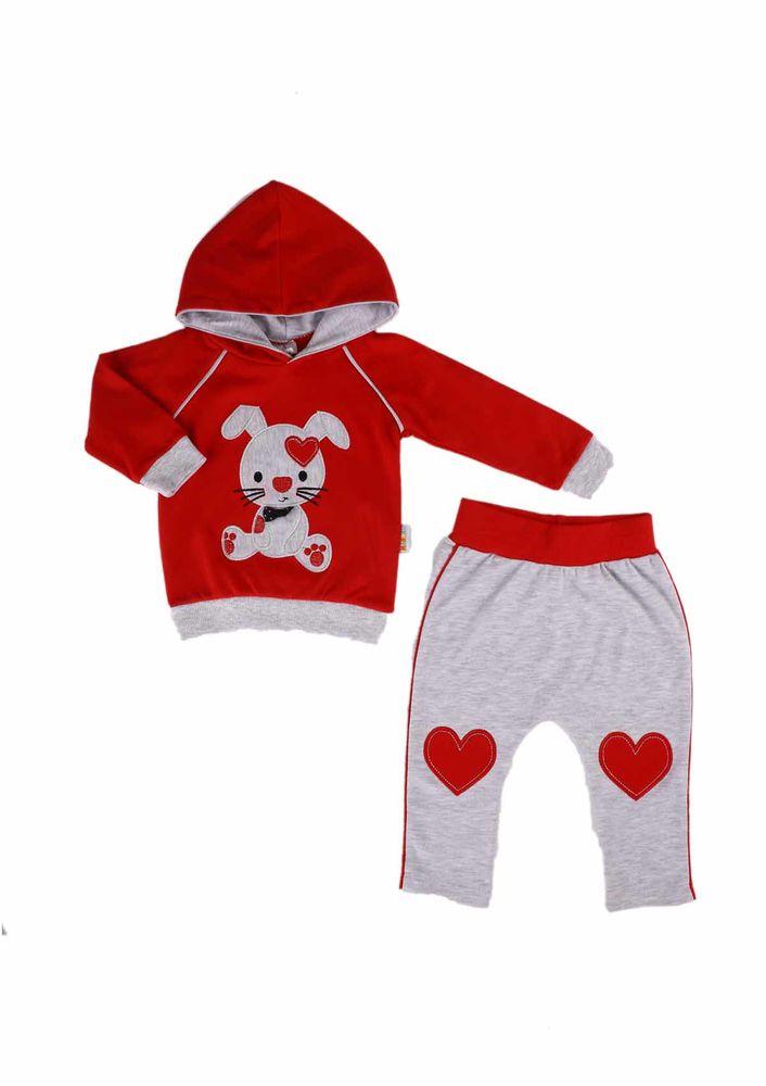 Miniş Bebek Takımı 1013   Kırmızı