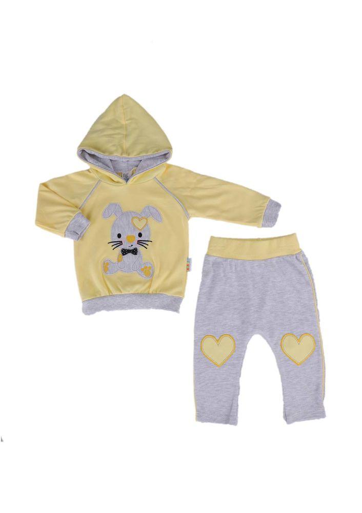 Miniş Bebek Takımı 1013   Sarı