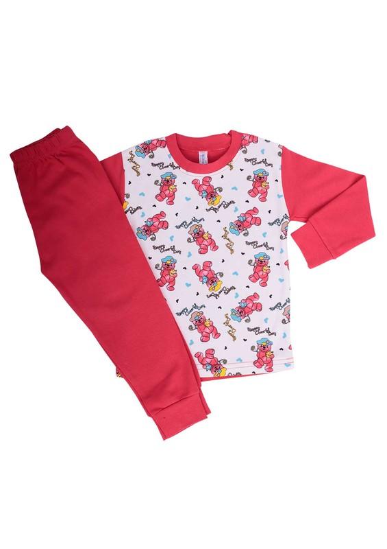SİMİSSO - Simisso Pijama Takımı 204 | Kırmızı