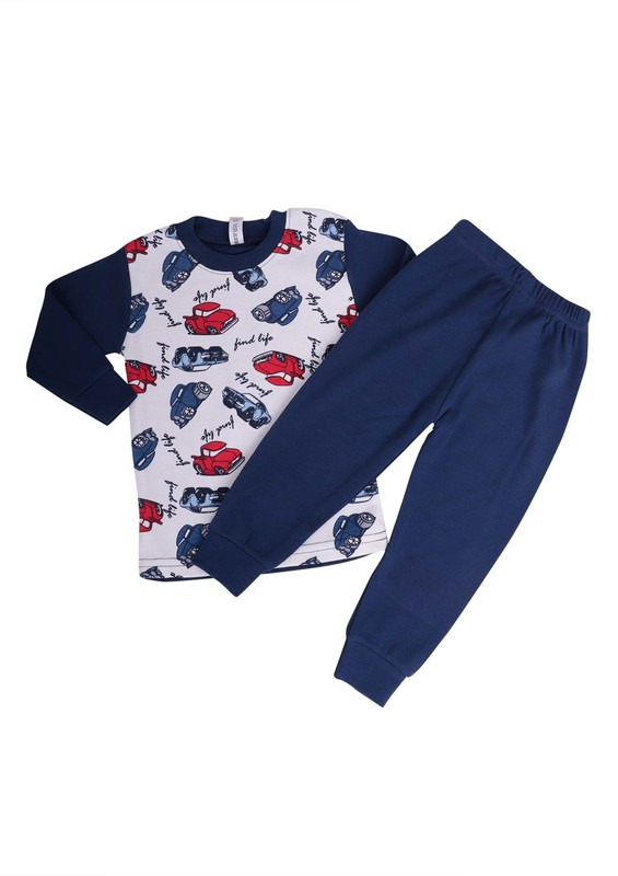 SİMİSSO - Simisso Pijama Takımı 105   Lacivert