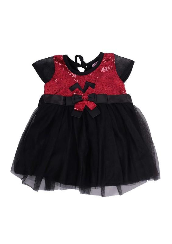 SİMİSSO - Simisso Çocuk Abiye Elbise 616   Kırmızı