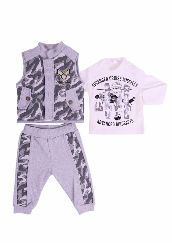 BABY CHOİCE - Baby Choice Bebek Takımı 5059 | Gri
