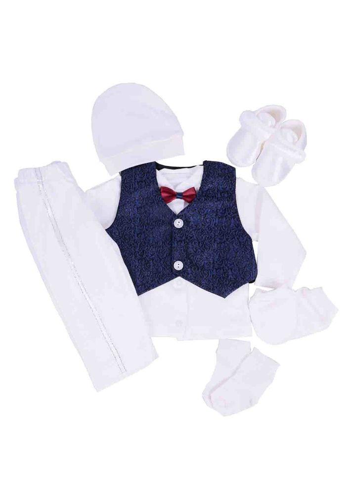 Baby Tiny Zıbın Seti 705 | Beyaz