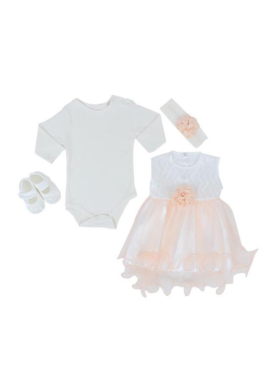 BABY TİNY - Baby Tiny Bebek Takımı 397 | Somon
