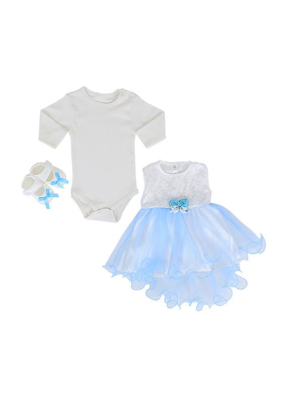 BABY TİNY - Baby Tiny Bebek Takımı 402 | Nar Çiçeği