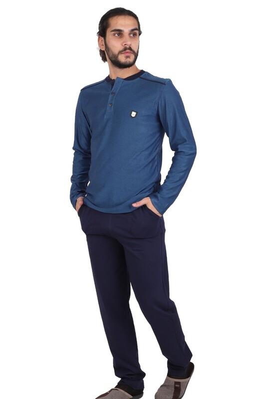 BERRAK - Berrak Pijama Takımı 472   Mavi