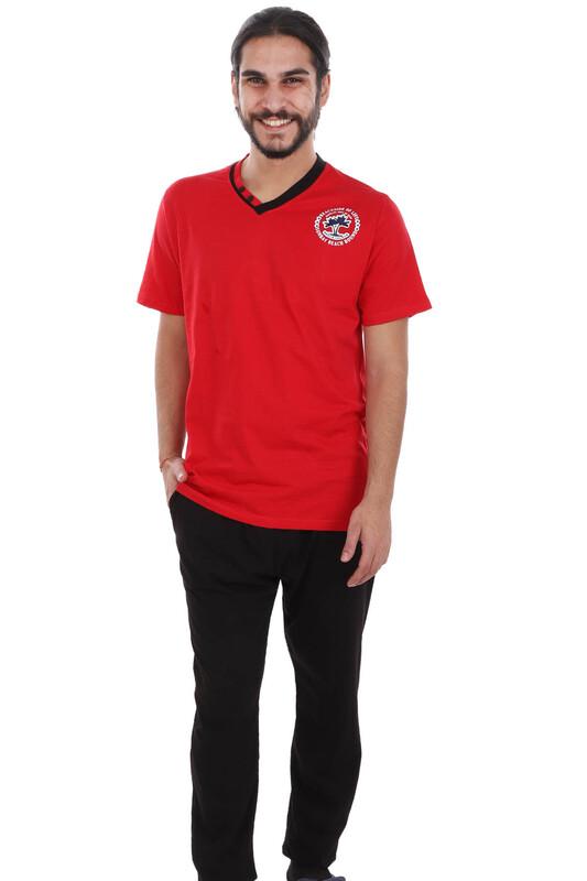 BYDON - ByDon Pijama Takımı 4198   Kırmızı