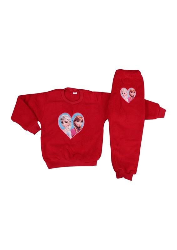 SİMİSSO - Simisso Welsoft Pijama Takımı 869 | Kırmızı