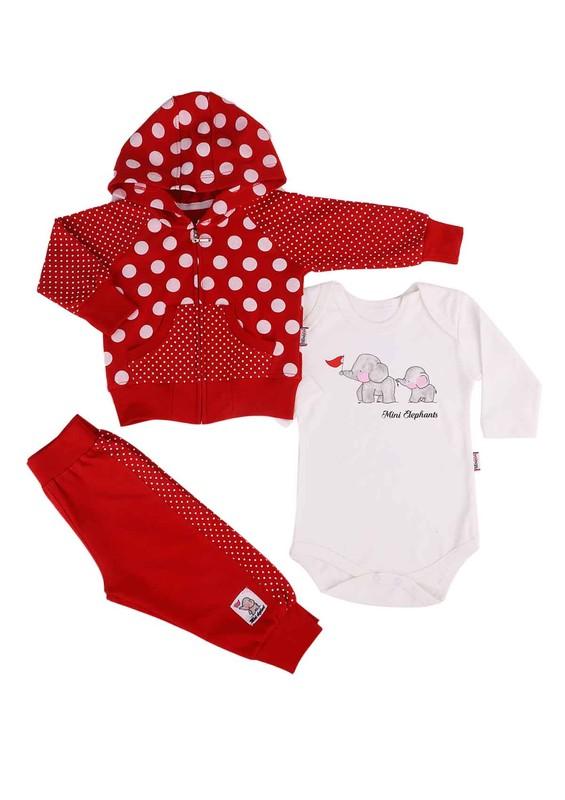 SİMİSSO - Simisso Bebek Takımı 011 | Kırmızı